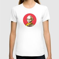 mozart T-shirts featuring Mozart Kugel Red by Marko Köppe