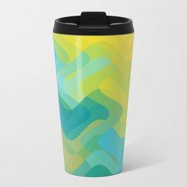 Summer Waves Metal Travel Mug