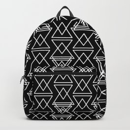 RIGHT AND WRONG:III BLACK DREAMS Backpack