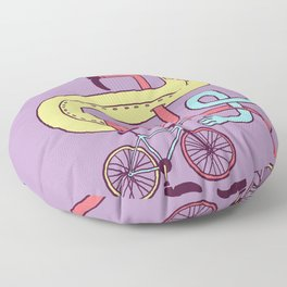 Go Riding Floor Pillow