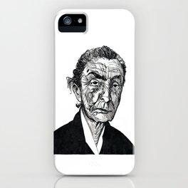 Georgia O'Keeffe portrait iPhone Case