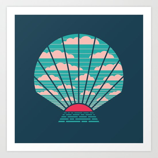 The Birth of Day Art Print