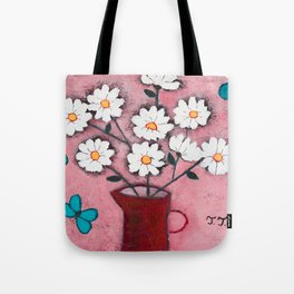 Daisies and Friends Tote Bag