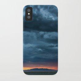 Salt Lake Sky iPhone Case