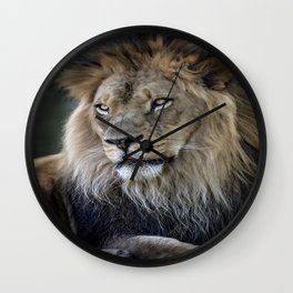 In the Jungle, the Mighty Jungle Wall Clock
