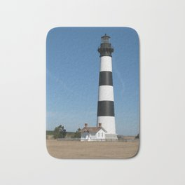Bodie Island Lighthouse, Outer Banks, North Carolina Bath Mat