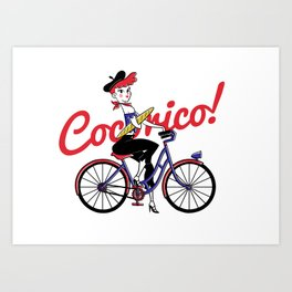 COCORICO! Art Print