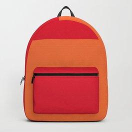 Raspberry Peach Orange Backpack