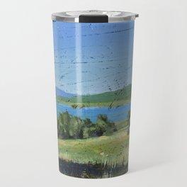 cabin - by phil art guy Travel Mug