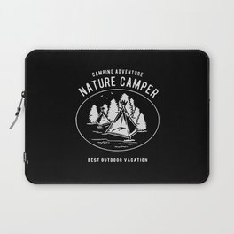 camping adventure nature camper Laptop Sleeve