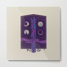 'Neath the Tower of Incomprehensible Sorcery Metal Print