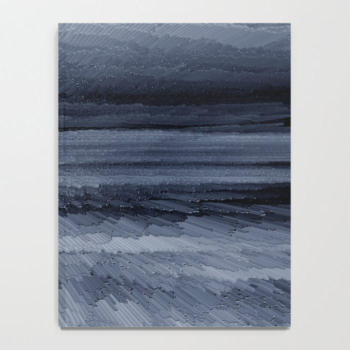 Abstract black painting 2 Notebook