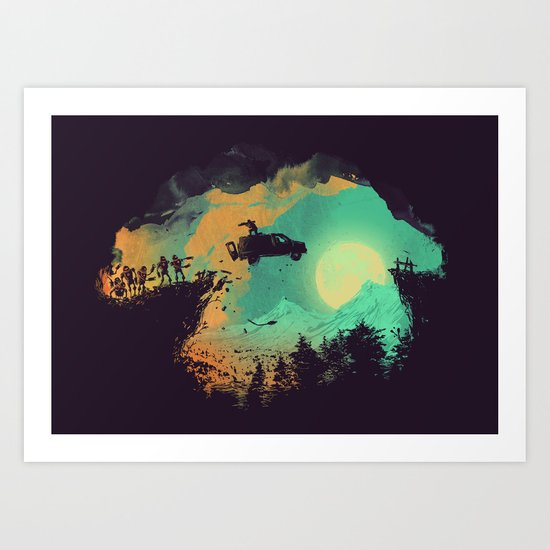 Leap of Faith Art Print