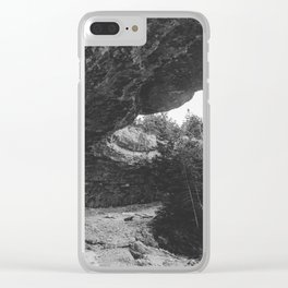Bruce Peninsula Overhanging Point Clear iPhone Case