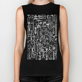Medical Condition VINTAGE FRANKENSTEIN / Take two of these and call me in the morning Biker Tank