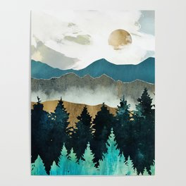 Forest Mist Poster