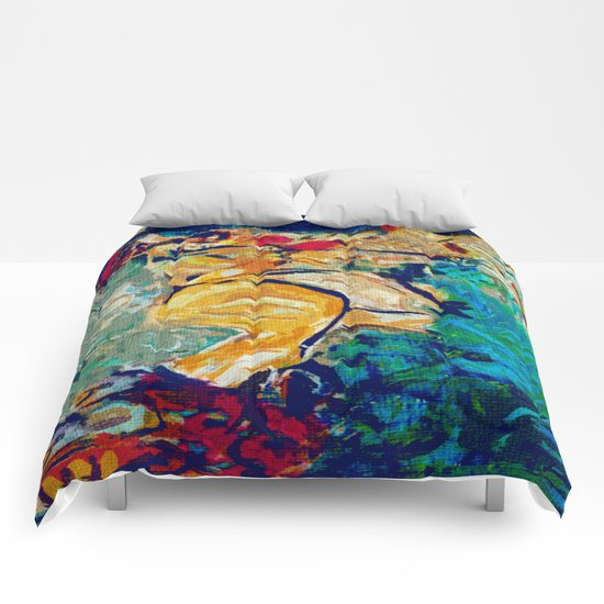 The Sleep Of Fat Woman Comforters