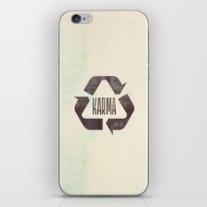 karma iPhone & iPod Skin