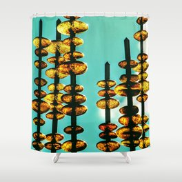 Amber Love Shower Curtain