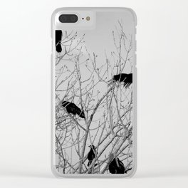 Murder Of Crows - Five Clear iPhone Case