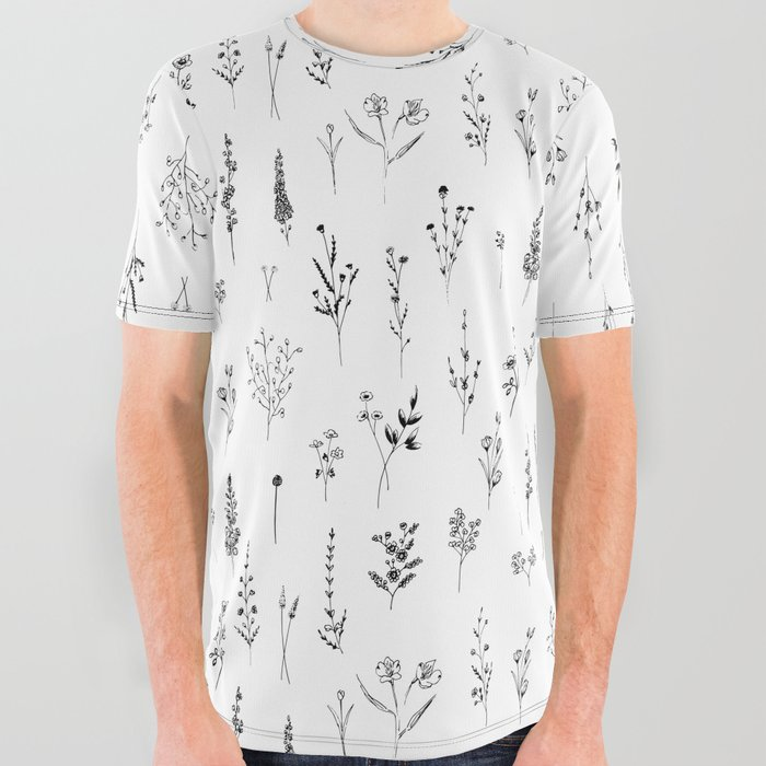 Wildflowers_All_Over_Graphic_Tee_by_Anis_Illustration_anisillustration__Small
