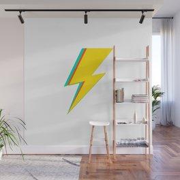 Lightning bolt (yellow Version) Wall Mural