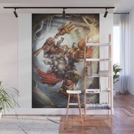 Steel Dwarf Wall Mural