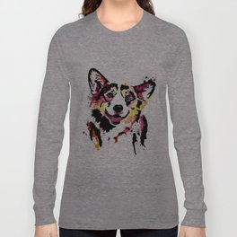 corgi Long Sleeve T-shirt