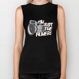 I'm Just The Filmer Biker Tank