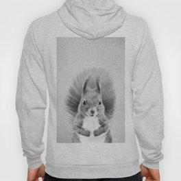 Squirrel 2 - Black & White Hoody