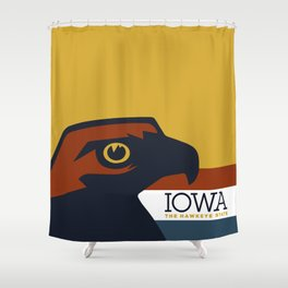 Iowa - Redesigning The States Series Shower Curtain