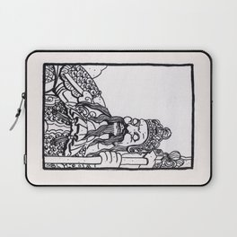 Bangkok : Wat Pho Temple Guardian Laptop Sleeve
