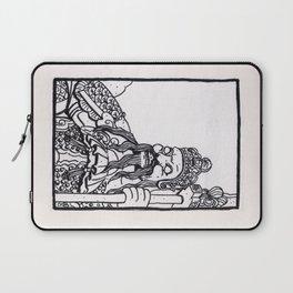 Bangkok : Wat Pho Temple Guardian Laptop Sleeve