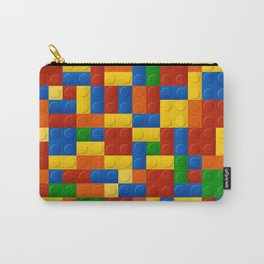 Plastic pieces pattern Carry-All Pouch