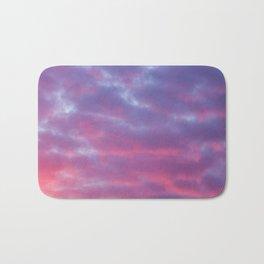 Cloudy Sunset Bath Mat