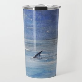 Shallow water Travel Mug