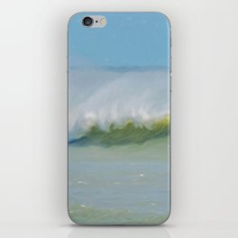 Wave Mist iPhone Skin