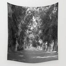 A Road Less Traveled Wall Tapestry