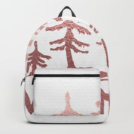 WANDER Adventure Forest Rose Gold Pink Backpack