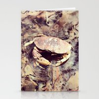 crab Stationery Cards featuring Crab by Ken Seligson