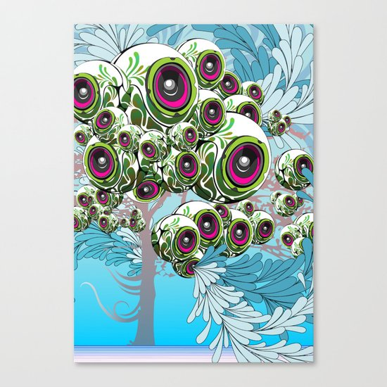 Apples for Ears Canvas Print