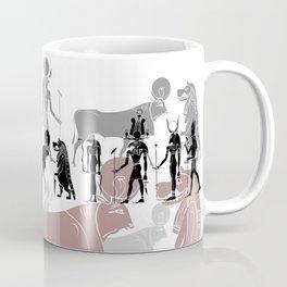 Egyptian gods, goddess, creatures and demons Coffee Mug
