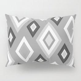 Diamond pattern - monochrome Pillow Sham