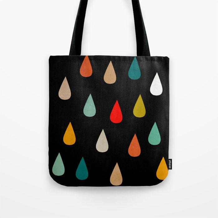 Colorful rain Tote Bag