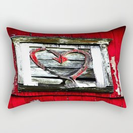 Barn Heart Rectangular Pillow