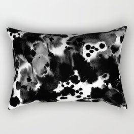 Blaire - abstract painting minimal modern art print home decor must haves Rectangular Pillow