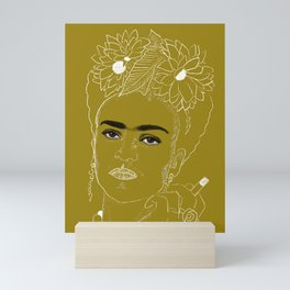 Smokin' Frida Mini Art Print