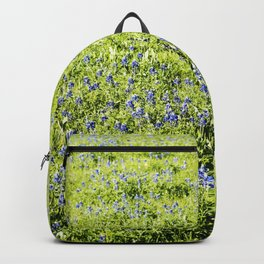 Texas Bluebonnet Field Backpack