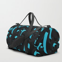 3D Abstract Ornamental Background Duffle Bag