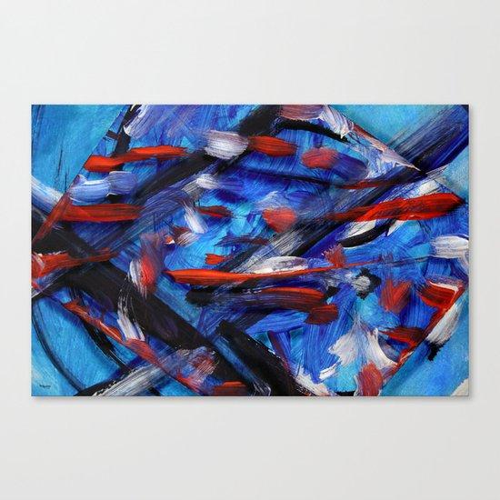 Acryl-Abstrakt 30 Canvas Print